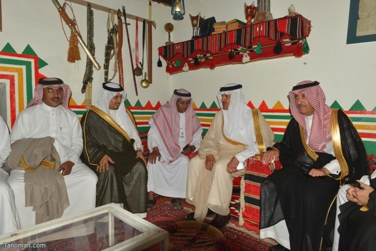 زيارة سمو الأمير سلطان بن سلمان رئيس هيئة السياحة والأثار لمحافظة تنومة 7