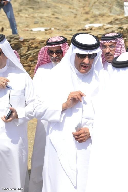 زيارة سمو الأمير سلطان بن سلمان رئيس هيئة السياحة والأثار لمحافظة تنومة 8