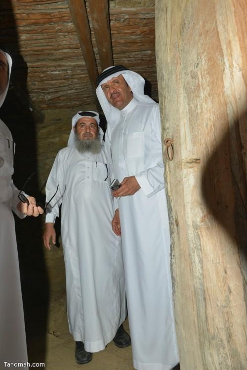 زيارة سمو الأمير سلطان بن سلمان رئيس هيئة السياحة والأثار لمحافظة تنومة 10