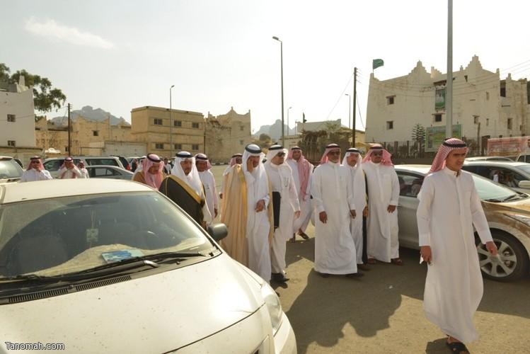 زيارة سمو الأمير سلطان بن سلمان رئيس هيئة السياحة والأثار لمحافظة تنومة 14