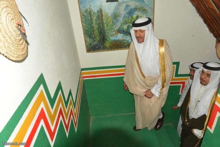 زيارة سمو الأمير سلطان بن سلمان رئيس هيئة السياحة والأثار لمحافظة تنومة 15