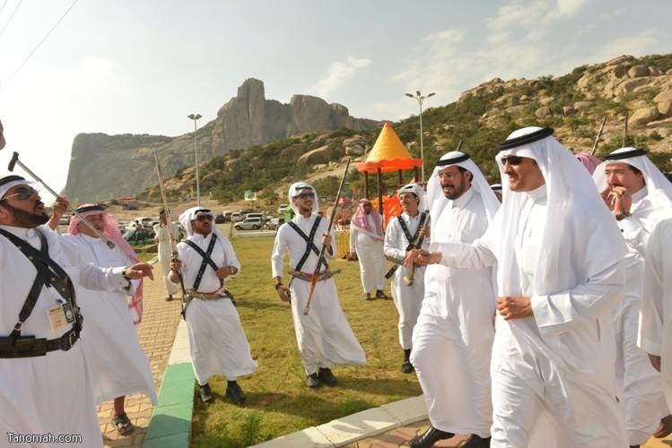 زيارة سمو الأمير سلطان بن سلمان رئيس هيئة السياحة والأثار لمحافظة تنومة 19