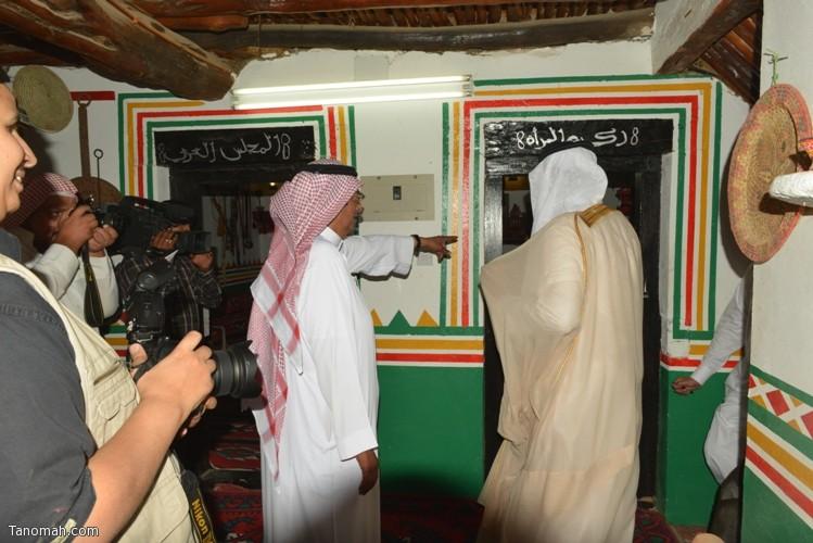 زيارة سمو الأمير سلطان بن سلمان رئيس هيئة السياحة والأثار لمحافظة تنومة 21