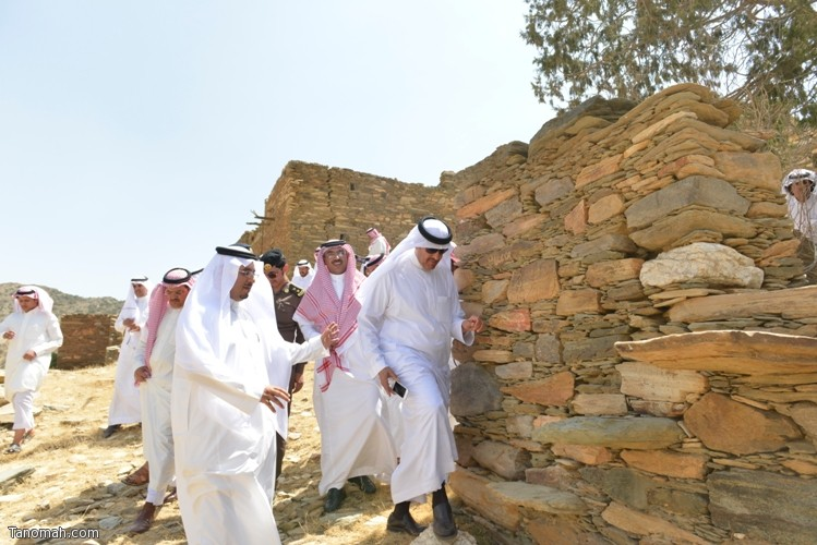 زيارة سمو الأمير سلطان بن سلمان رئيس هيئة السياحة والأثار لمحافظة تنومة 26