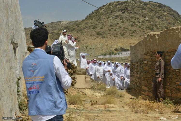 زيارة سمو الأمير سلطان بن سلمان رئيس هيئة السياحة والأثار لمحافظة تنومة 27