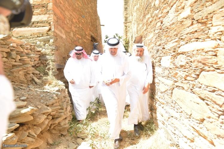 زيارة سمو الأمير سلطان بن سلمان رئيس هيئة السياحة والأثار لمحافظة تنومة 30