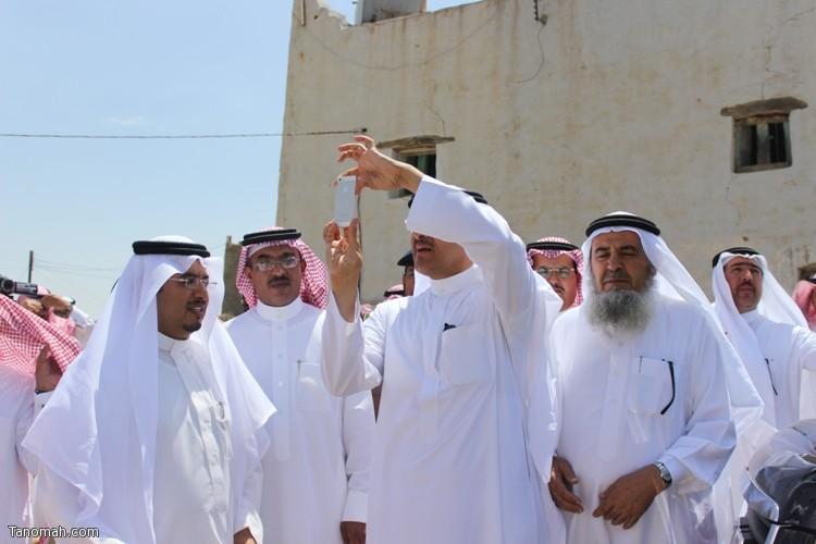 زيارة سمو الأمير سلطان بن سلمان رئيس هيئة السياحة والأثار لمحافظة تنومة 31