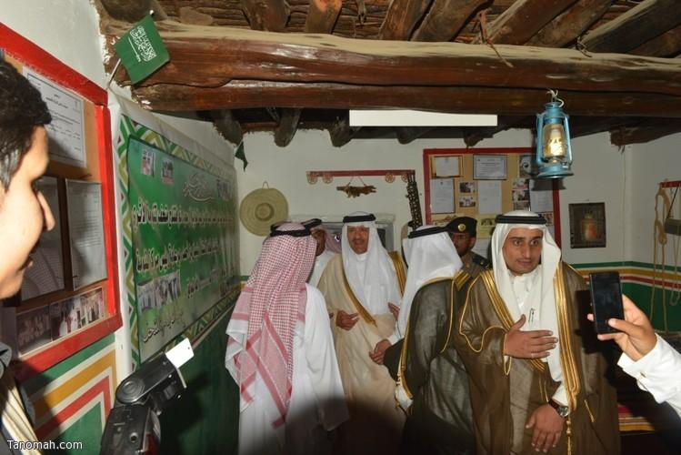 زيارة سمو الأمير سلطان بن سلمان رئيس هيئة السياحة والأثار لمحافظة تنومة 37