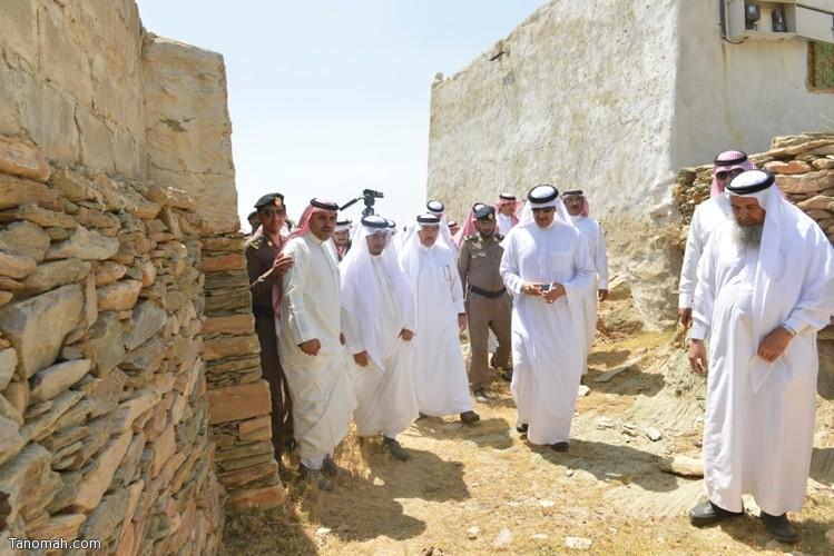 زيارة سمو الأمير سلطان بن سلمان رئيس هيئة السياحة والأثار لمحافظة تنومة 38