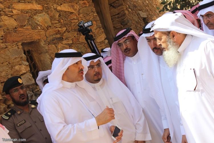 زيارة سمو الأمير سلطان بن سلمان رئيس هيئة السياحة والأثار لمحافظة تنومة 40