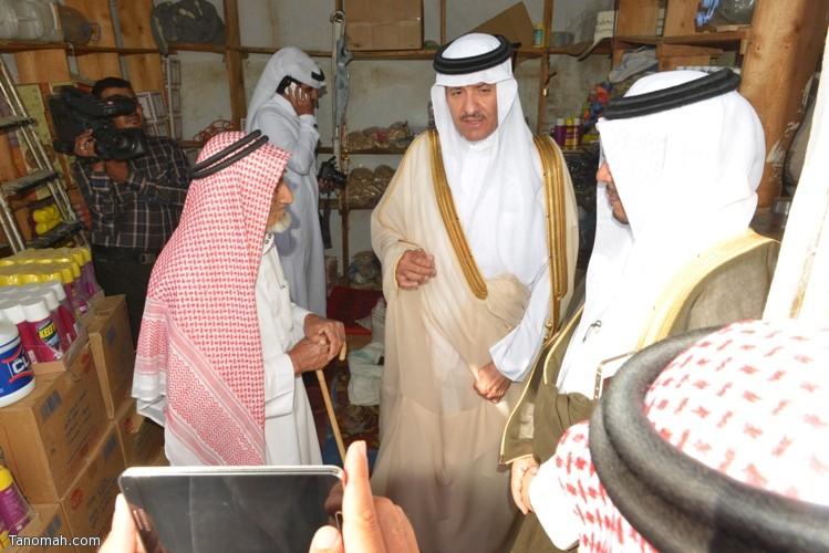 زيارة سمو الأمير سلطان بن سلمان رئيس هيئة السياحة والأثار لمحافظة تنومة 42