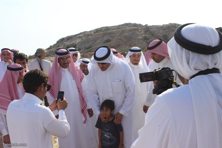 زيارة سمو الأمير سلطان بن سلمان رئيس هيئة السياحة والأثار لمحافظة تنومة 43