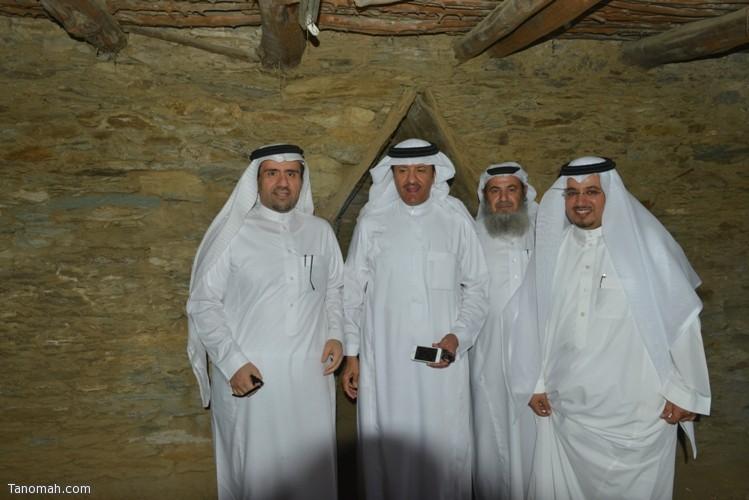 زيارة سمو الأمير سلطان بن سلمان رئيس هيئة السياحة والأثار لمحافظة تنومة 44