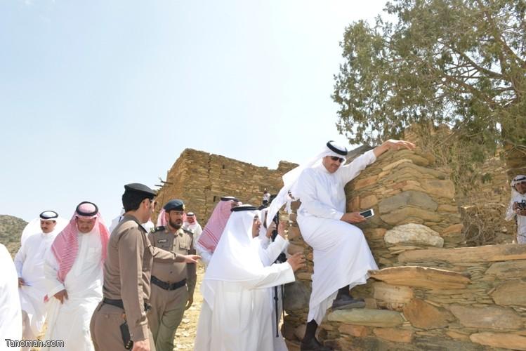 زيارة سمو الأمير سلطان بن سلمان رئيس هيئة السياحة والأثار لمحافظة تنومة 49