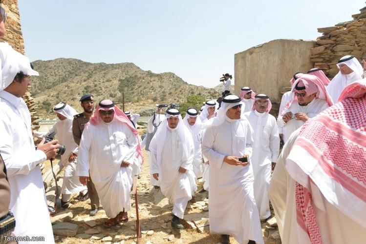 زيارة سمو الأمير سلطان بن سلمان رئيس هيئة السياحة والأثار لمحافظة تنومة 56
