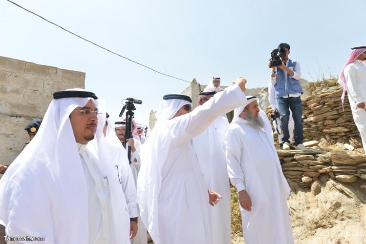 زيارة سمو الأمير سلطان بن سلمان رئيس هيئة السياحة والأثار لمحافظة تنومة 61