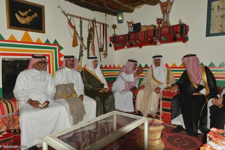 زيارة سمو الأمير سلطان بن سلمان رئيس هيئة السياحة والأثار لمحافظة تنومة 66