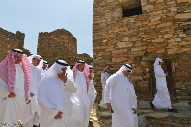زيارة سمو الأمير سلطان بن سلمان رئيس هيئة السياحة والأثار لمحافظة تنومة 67