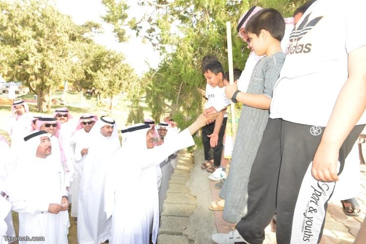 زيارة سمو الأمير سلطان بن سلمان رئيس هيئة السياحة والأثار لمحافظة تنومة 72