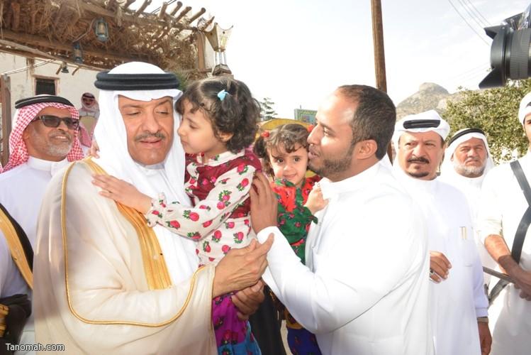 زيارة سمو الأمير سلطان بن سلمان رئيس هيئة السياحة والأثار لمحافظة تنومة 79