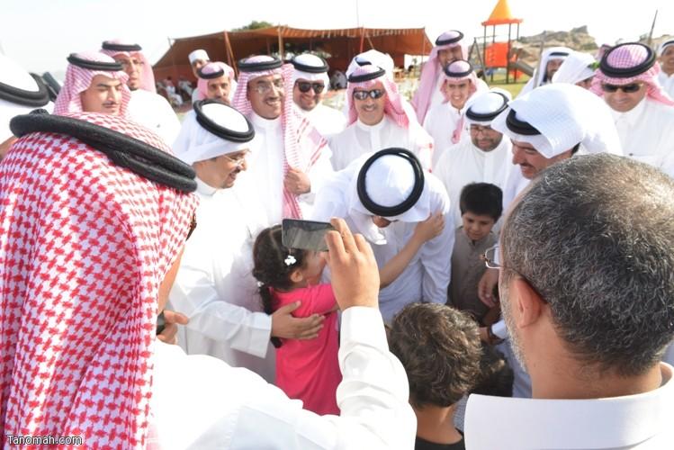 زيارة سمو الأمير سلطان بن سلمان رئيس هيئة السياحة والأثار لمحافظة تنومة 80