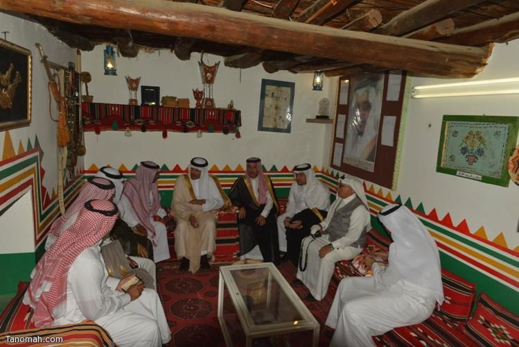 زيارة سمو الأمير سلطان بن سلمان رئيس هيئة السياحة والأثار لمحافظة تنومة 81