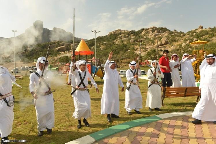 زيارة سمو الأمير سلطان بن سلمان رئيس هيئة السياحة والأثار لمحافظة تنومة 84