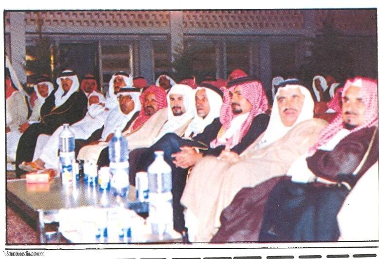 صورة لأول لقاء ثقافي في تنومة كان عام 1404هـ - ابو عراد