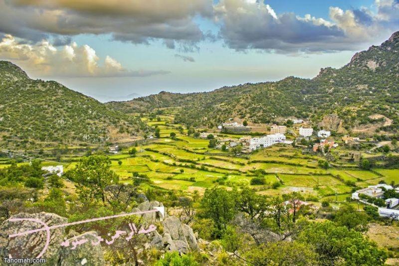 وادي قنطان - عدسة عبدالرحمن خلوفة