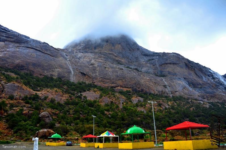 جبل عكران في تنومة