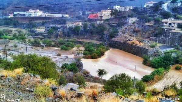 من أمطار النماص عدسة صالح الجبيري