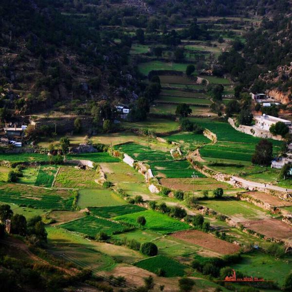 وادي قنطان بمحافظة تنومة