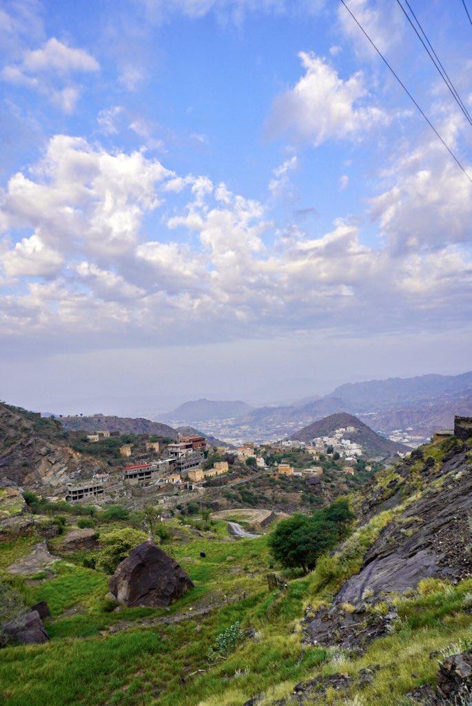 قرى أل صميد..الملحاء في محافظة #المجاردة عدسة نوال الشهري