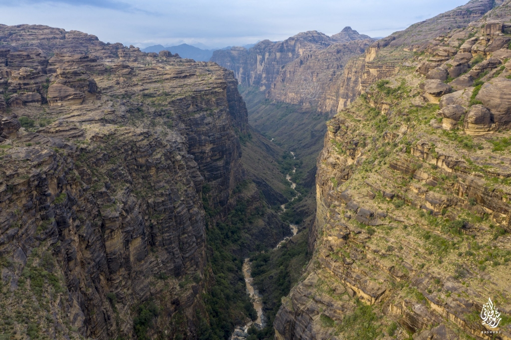 #صورة للطبيعة في جبال القهر في #الريث بمنطقة #جازان ..تصوير رشود الحارثي