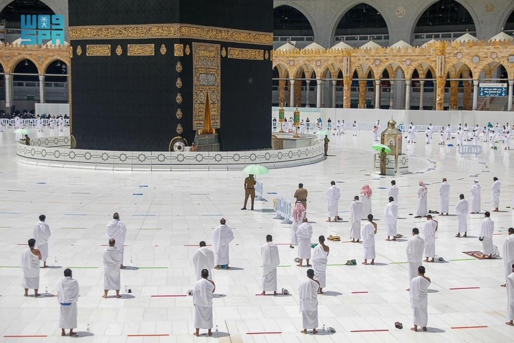 #صورة من المسجد الحرام اليوم #الجمعة