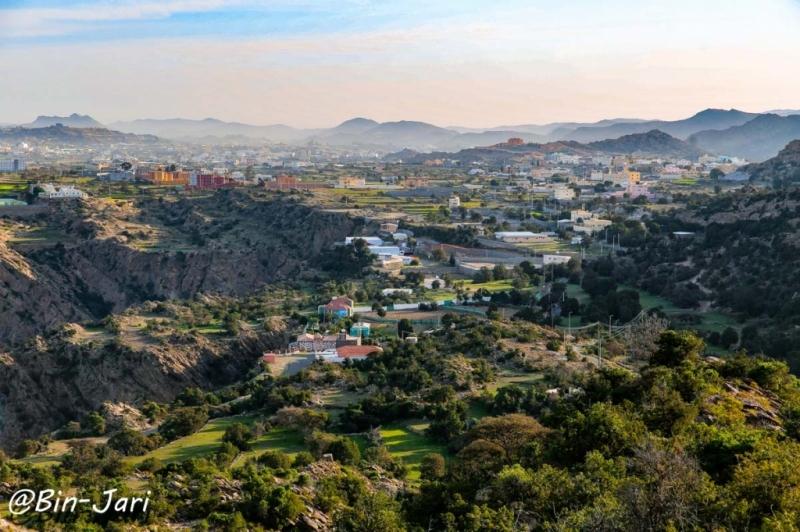 """من الصور الجميلة لمحافظة #تنومة منتزه """"غدانة"""" عدسة: بن جاري"""