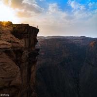 حافة العالم في جبال #الريث     عدسة ابراهيم سرحان