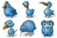 ايقونات طيور