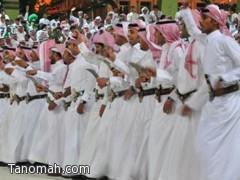 فيصل بن خالد  يشارك أهالي عسير الاحتفاء باليوم الوطني
