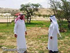 ايادي العبث تطال منتزه الأمير نايف في تنومة