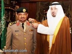 أمير نجران يقلد العميد علي الشهري رتبته الجديدة