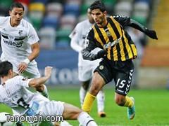 صالح الشهري يفتتح التسجيل ويقود فريقه بيرا مار للتعادل