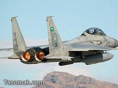 سقوط طائرة (F15) خلال مهمة تدريبية والبحث جاري عن قائدها