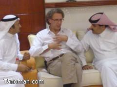 الدكتور بن هشبول يقيم حفل عشاء لعدداً من علماء القلب
