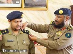 ترقية الرائد أحمد الشهري الى رتبة مقدم