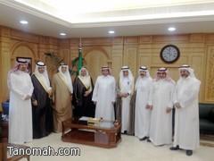 معالي وزير الصحة يلتقي بمجموعة من أعيان ووجهاء النماص وتنومة
