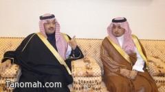الأمير تركي بن طلال بن عبدالعزيز في ضيافة الهزاني بتنومة
