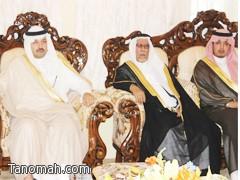 سمو الأمير تركي بن طلال في ضيافة الشيخ الشبيلي بتنومة