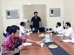 الاجتماع الأول لفوتوغرافي محافظة بارق