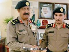مدير الدفاع المدني بعسير يقلد العقيد عبدالله بن فراج رتبته الجديدة